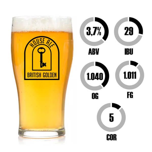 Kit Receita Cerveja Fácil House Ale