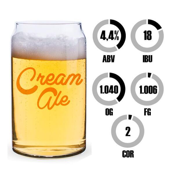 Kit Receita Cerveja Fácil Lazy Cream Ale