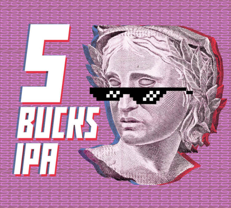Kit Receita Cerveja 5 Bucks IPA – American IPA