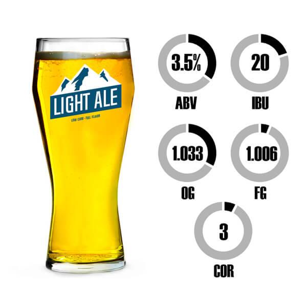 Kit Receita Cerveja Fácil Light Ale