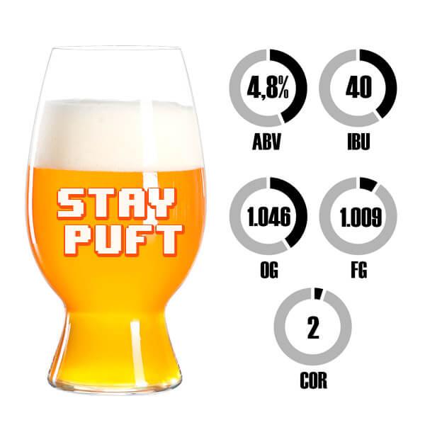 Kit Receita Cerveja Fácil Stay Puft American Wheat