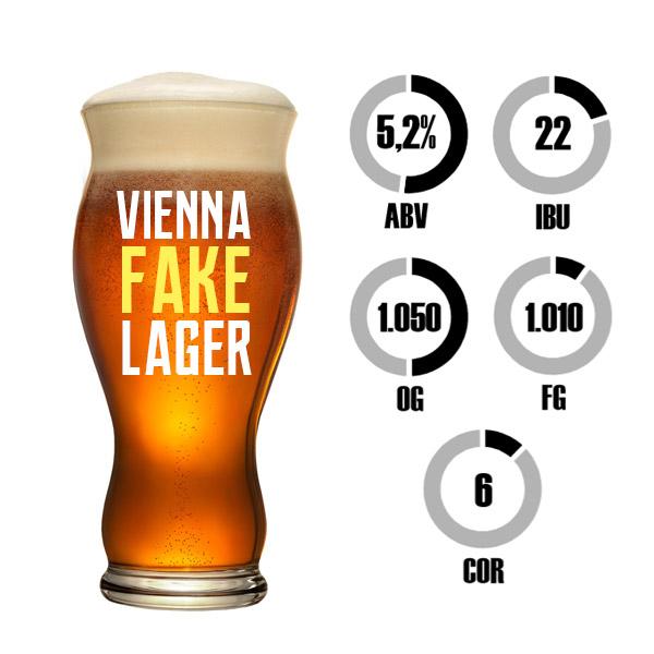 Kit Receita Cerveja Fácil Vienna Fake Lager