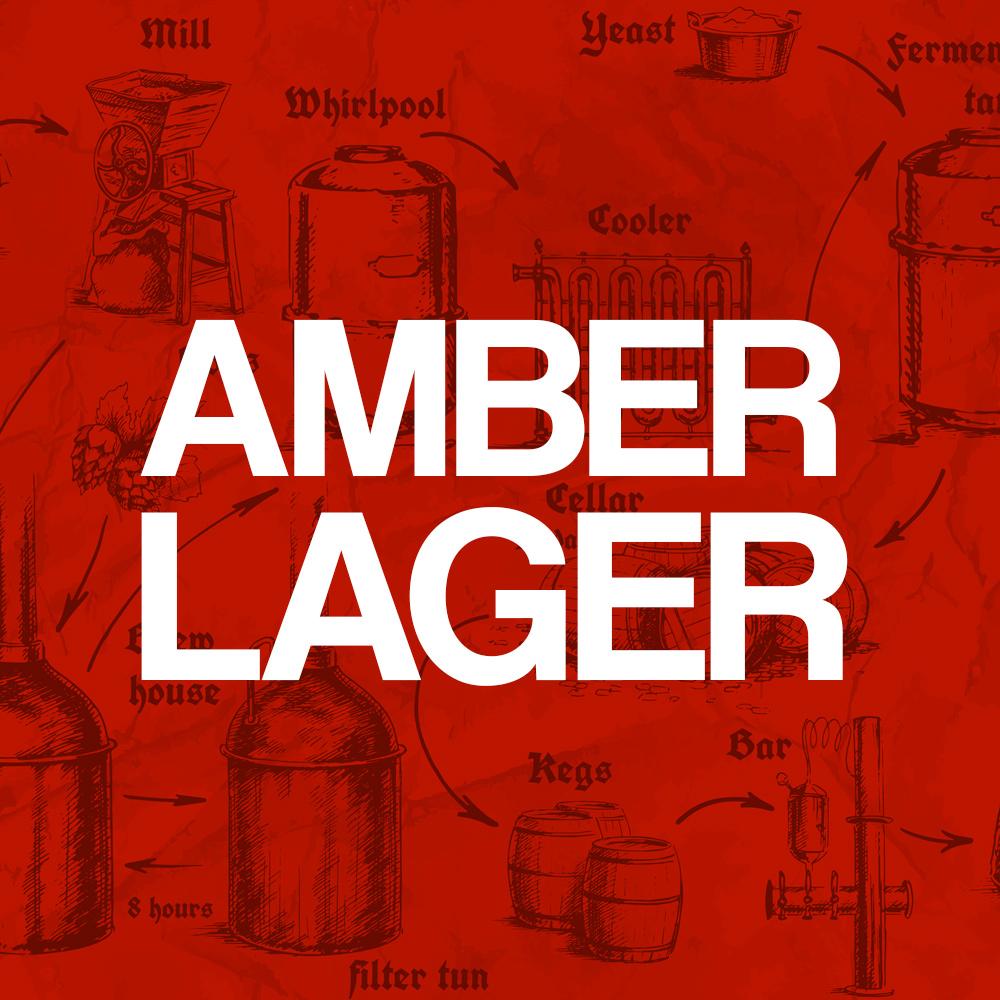 Kit Receita Cerveja Amber Lager