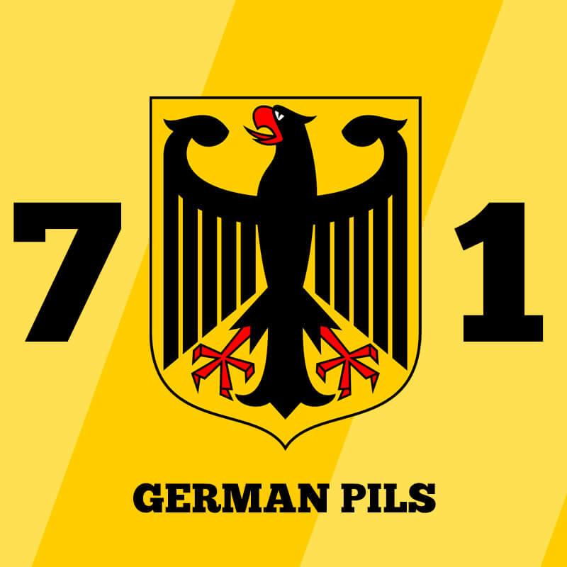 Kit Receita Cerveja 7×1 German Pils