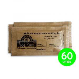 Sachês para Carbonatação Primming  ~ 60 unids