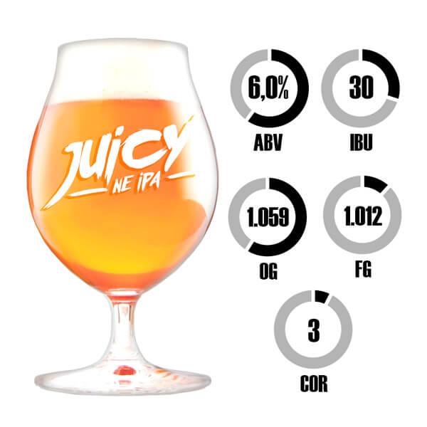 Kit Receita Cerveja Fácil Juicy NEIPA
