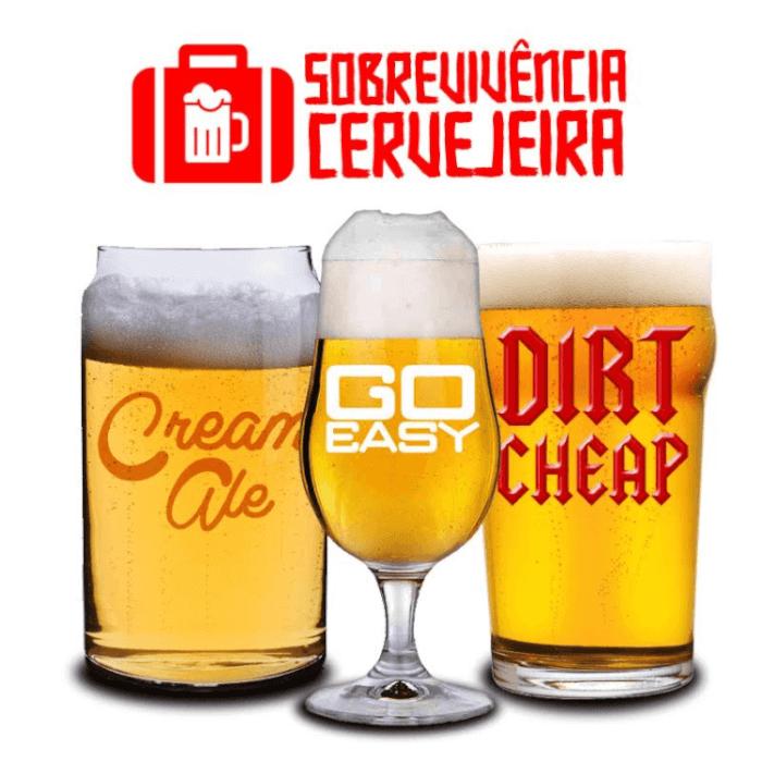 Kit Sobrevivência Cervejeira - 3 Receitas de Cerveja